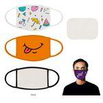 Custom Full Color Printed Cotton Mask