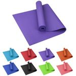 Custom Blank Large PVC Fitness Yoga Mat