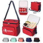 Insulated Collapsible Cooler Tote With Shoulder Strap