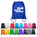 Custom Non-Woven Custom Drawstring Backpack - 13 x 17