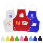 Custom Children Non-Woven Apron with Two Front Pocket