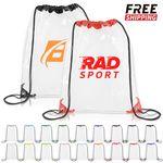 Custom PVC Drawstring Bags