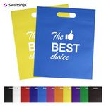 Custom Flat Non Woven Merchandise Tote Bag