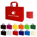 Custom Heat Sealed Non-Woven Tote Bag