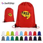 Custom Polyester Drawstring Cinch Backpack