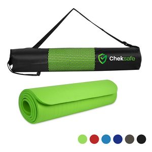 NBR Yoga Mat and Carrying Case