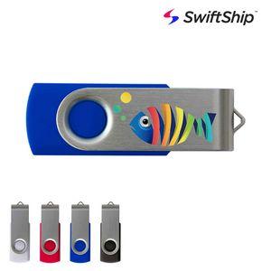 Swivel USB Flash Drive Swift Ship