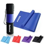 Custom Yoga Exercise Mat with Carrying Bag