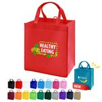 Custom Non-Woven Value Grocery Tote