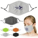 Custom Reusable Sublimated Cooling Face Mask