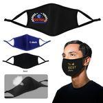 Custom Reusable 3D Molded 2 Ply Cloth Face Mask