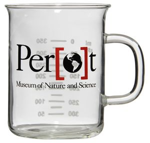Custom Printed Latte Lab Glass Mugs