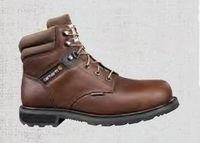 """Carhartt® Men's Brown 6"""" Traditional Welt Waterproof Steel Toe Work Boot"""