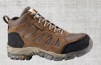 Carhartt® Women's Brown Lightweight Waterproof Work Hiker Boot w/Carbon Nano Toe
