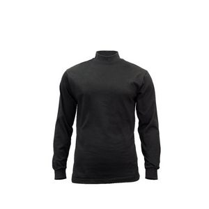 Black Mock Turtleneck Shirt (3XL)