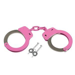 Pink Handcuffs w/Pouch
