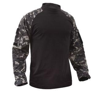 Subdued Urban Digital Camo Tactical Airsoft Combat Shirt (S-XL)