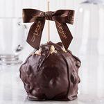 Custom Macadamia Coconut Turtle Caramel Apple w/Dark Belgian Chocolate
