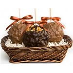 Custom 3 Apple Gift Basket