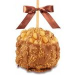Custom Macadamia Coconut Turtle Caramel Apple w/Milk Belgian Chocolate