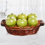 Custom Fresh Granny Smith Apple Basket
