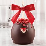 Custom Sweetheart Curls Caramel Apple w/Dark Belgian Chocolate
