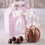Custom Pink Plaid Gable Gift Pack