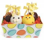 Custom Easter Egg Caramel Apple Gift Tray