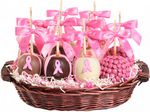 Custom Petite 10 Apple Breast Cancer Awareness Gift Basket