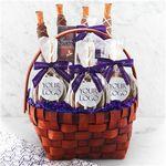 Custom Custom Label Classic Caramel Apple Gift Basket