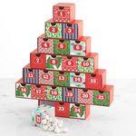 Custom Christmas Advent Calendar with Assorted Chocolates