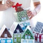 Custom Christmas Village 12 Petite Apple & Charming House