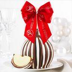 Custom Triple Chocolate Holiday Jumbo Caramel Apple