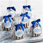 Custom Triple Chocolate with Sticker Petite Apples Bulk Case of 12