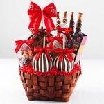 Custom Grand Festive Basket