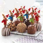 Custom Reindeer and Friends Petite Apples