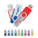Custom Rotatable USB Flash Drive (2GB)