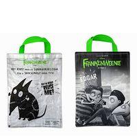 "Custom 120g Laminated Translucent Woven PE Halloween Bag 8""x10"""