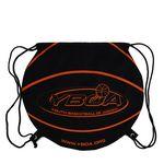 Custom 210D Polyester Drawstring Backpack Cinch Bag (14.75