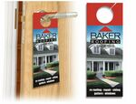 Custom Uncoated 14 Point Door Hanger (4.25