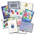 Custom Matte Greeting Card (14 Point/ 2 Sided)