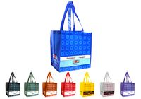 "Laminated Tote Bag 13""x15""x8"" NW"
