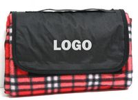 Picnic Fleece Blanket 70 x 56 Water Resistant