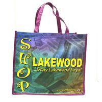 RPET Reusable Tote Shopping Bag