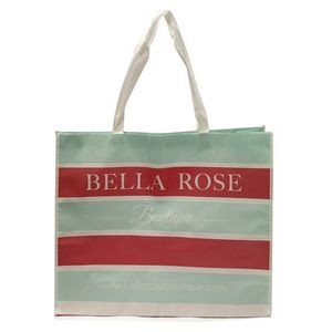 Custom Full Color Laminated Re-Usable Shopping Tote Bag