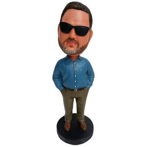 Bobble Head 4 Personality Figurine Doll
