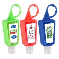 1 OZ Hand Sanitizer With Adjustable Silicone Holder Case