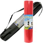 Custom Exercise Yoga Mat 6mm Thick with Carry Case