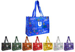 Laminated Tote Bag 16x12x6 NW Custom