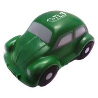 Green Classic VW Bug Car Stress Reliever